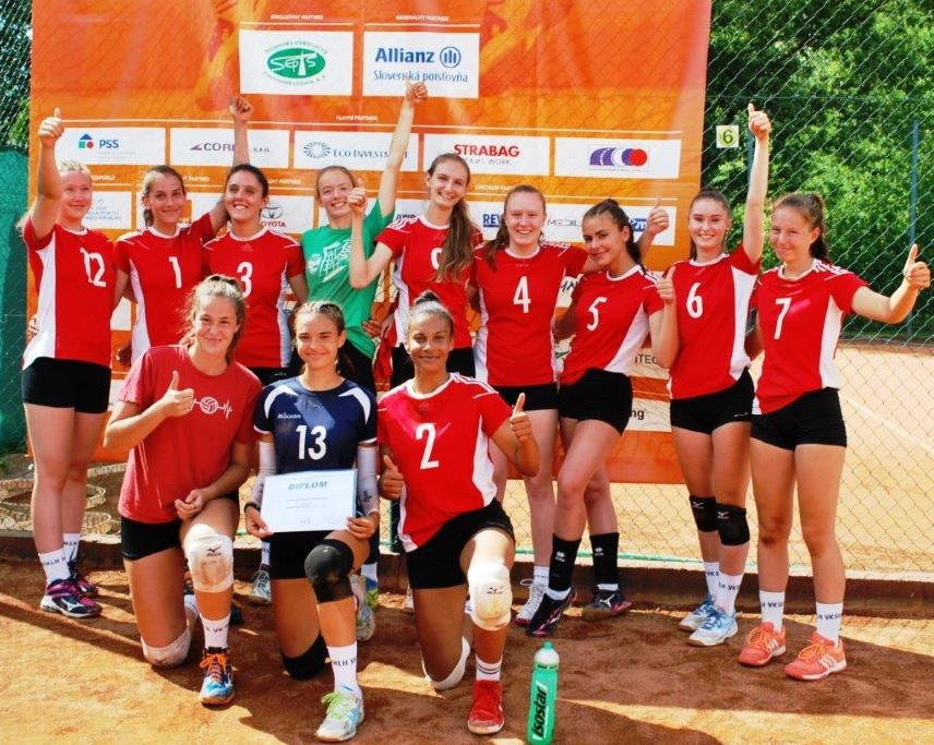 Pohár mládeže SVF v Piešťanoch získali dievčatá Liptovského Hrádku U19